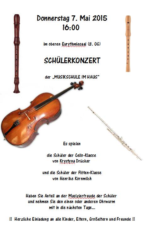 Schülerkonzert Waldorfschule 2015